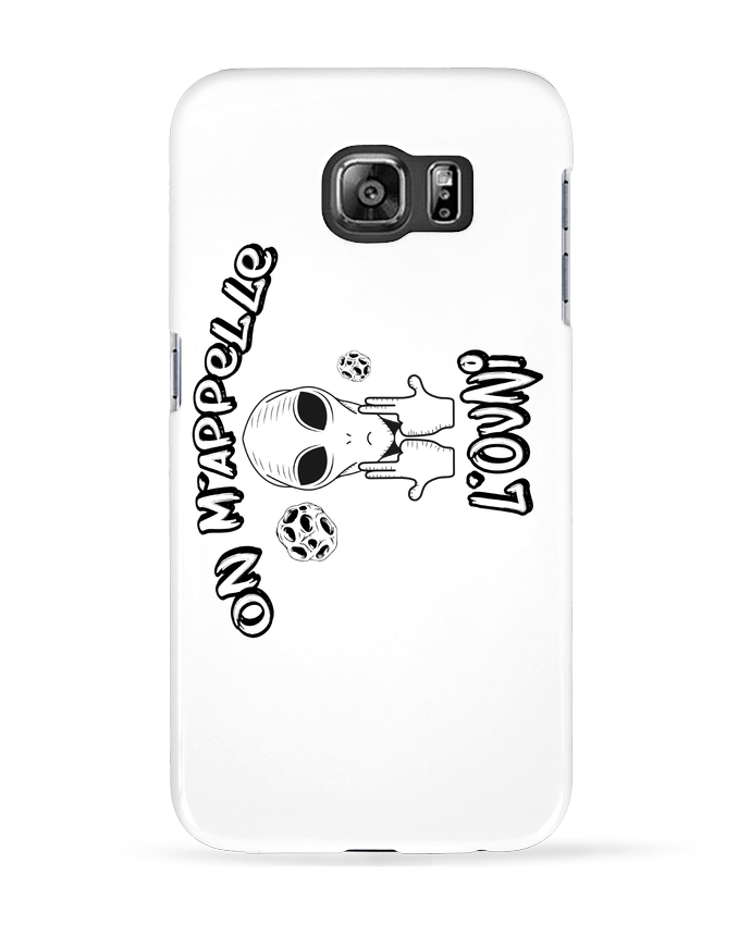 Coque 3D Samsung Galaxy S6 Ovni Jul - tunetoo