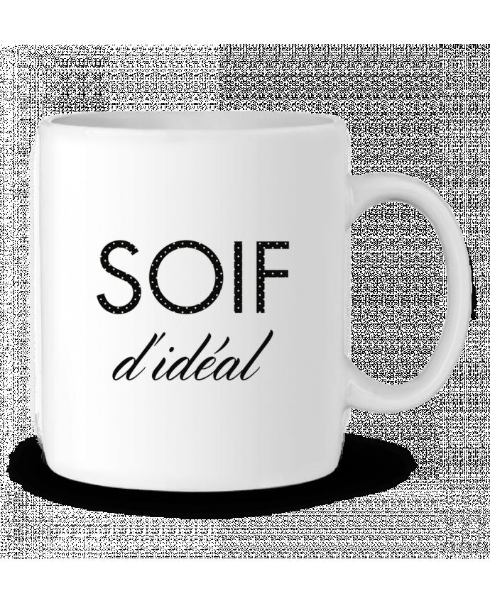Mug en Céramique Soif d'idéal par tunetoo
