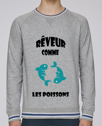 Sweat Col Rond Homme Stanley Strolls Tipped Signe astro : Poissons par SANDRA-WEB-DESIGN.CH