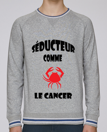 Sweat Col Rond Homme Stanley Strolls Tipped Signe astro : Cancer par SANDRA-WEB-DESIGN.CH