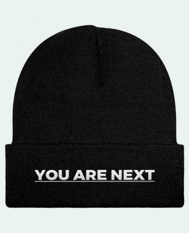 Bonnet Beanie à Revers You are next par tunetoo