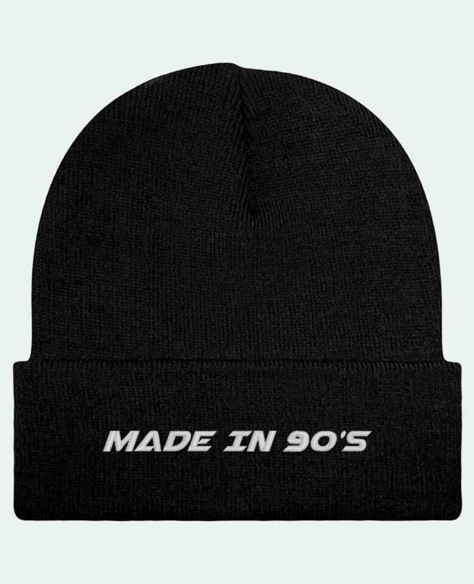 Bonnet Beanie à Revers Made in 90s par tunetoo