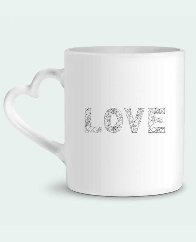 Mug Coeur Love par na.hili