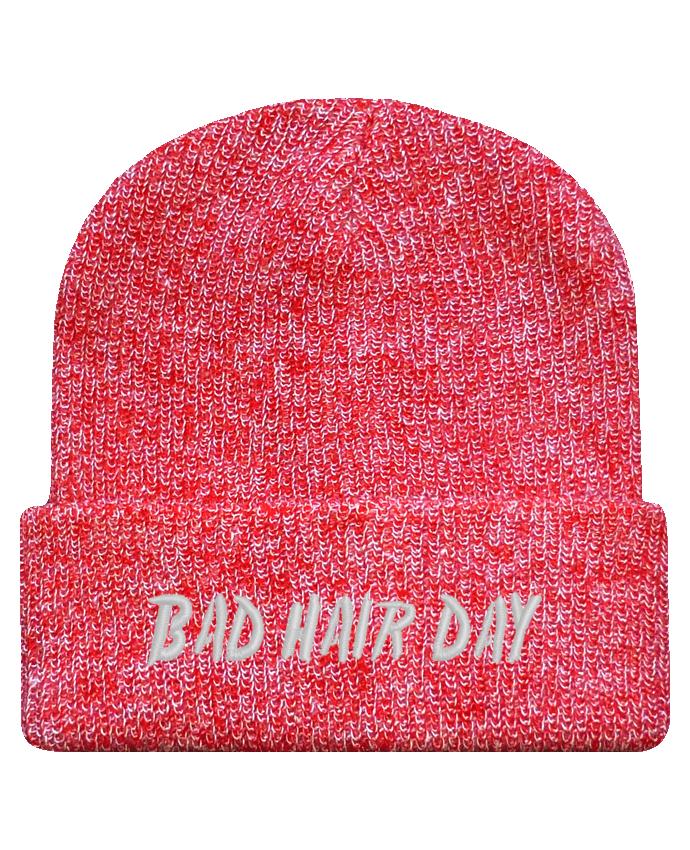 Bonnet Revers Beanie Héritage Bad hair day par tunetoo