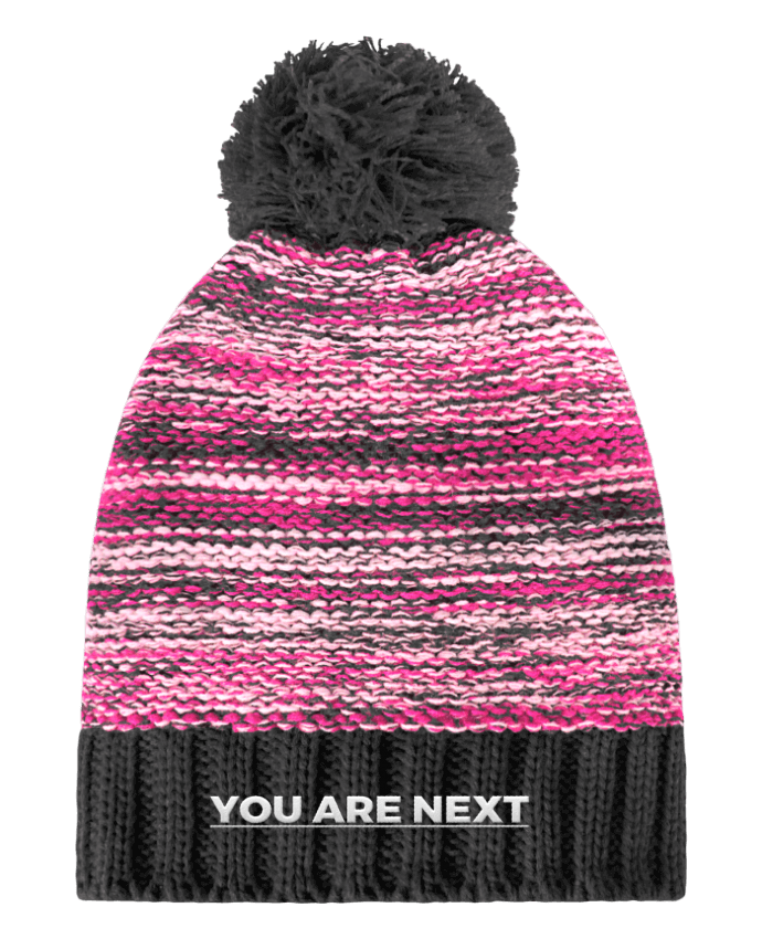 Bonnet Pompon Slalom Boarder You are next par tunetoo