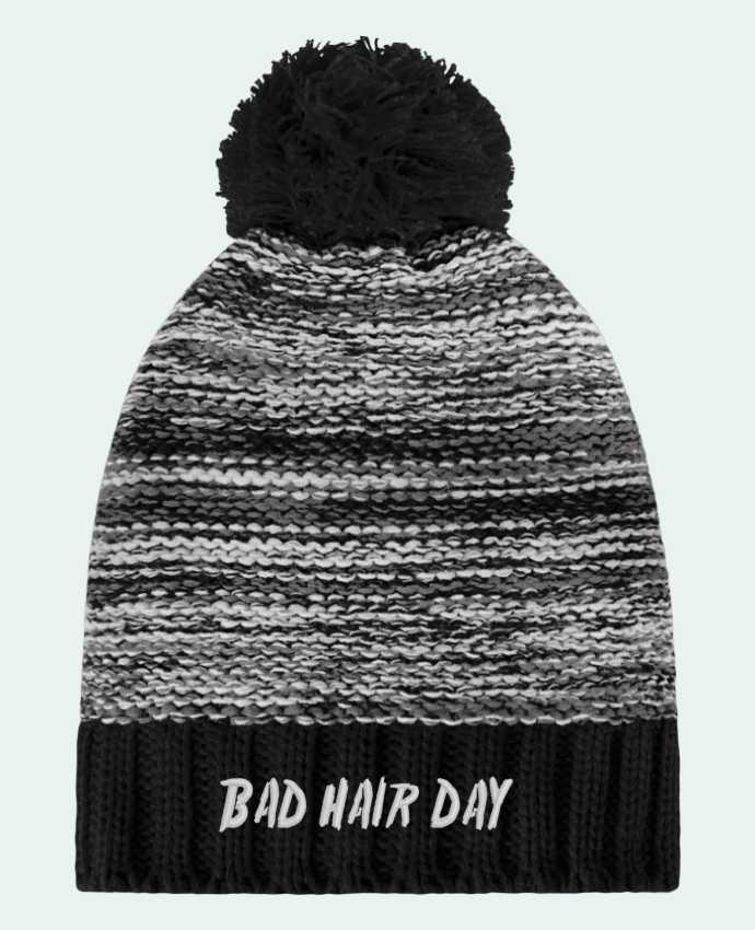 Bonnet Pompon Slalom Boarder Bad hair day par tunetoo