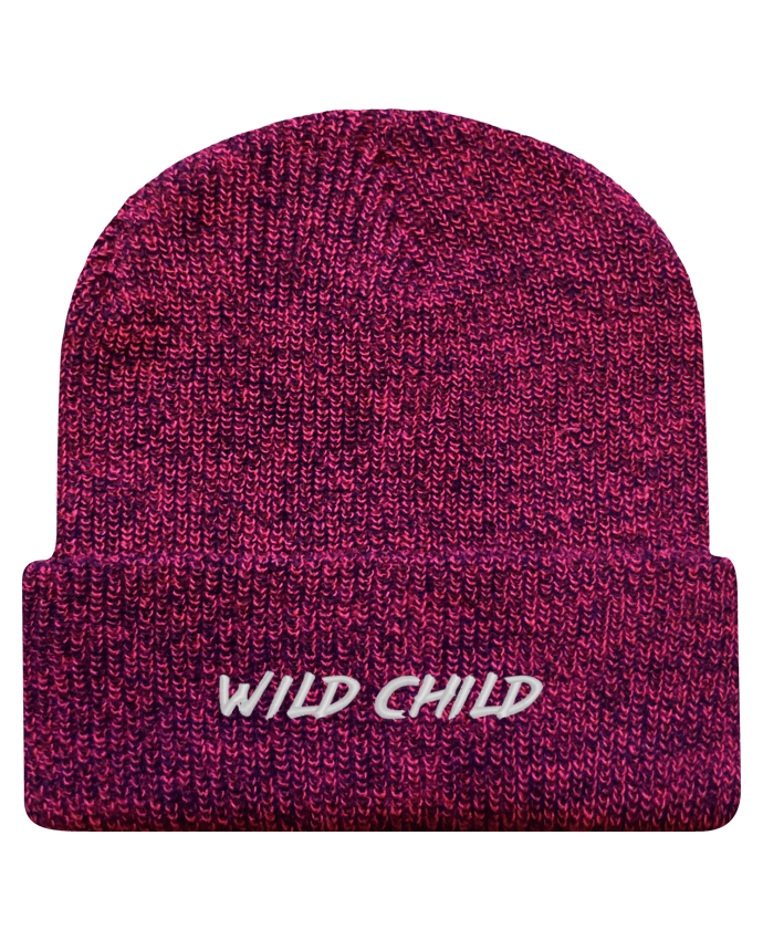 Bonnet Revers Beanie Héritage Wild Child par tunetoo