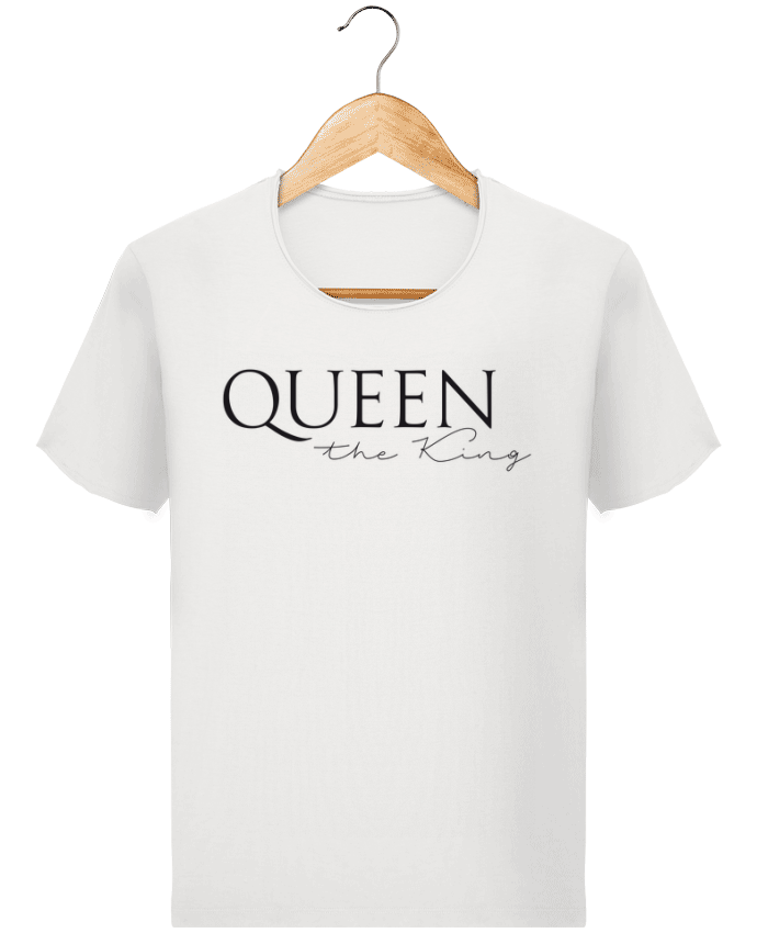 T-shirt Homme Stanley Imagines Vintage Queen the king par FRENCHUP-MAYO