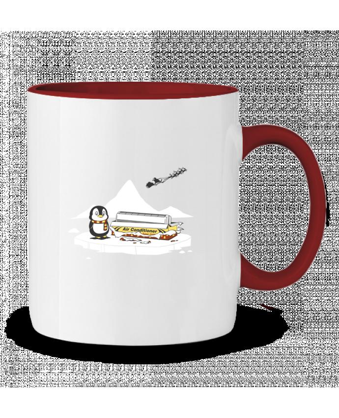 Mug en Céramique Bicolore Christmas Gift flyingmouse365