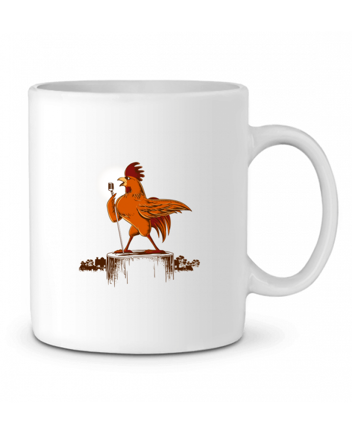 Mug en Céramique Morning Concert par flyingmouse365