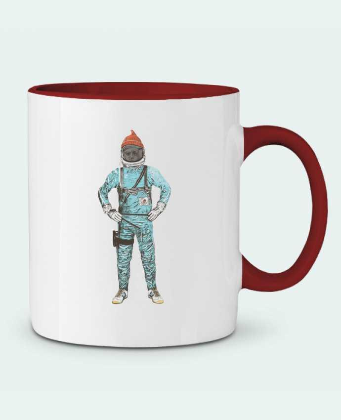 Mug en Céramique Bicolore Zissou in space Florent Bodart