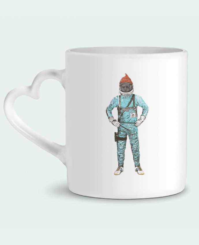 Mug Coeur Zissou in space par Florent Bodart