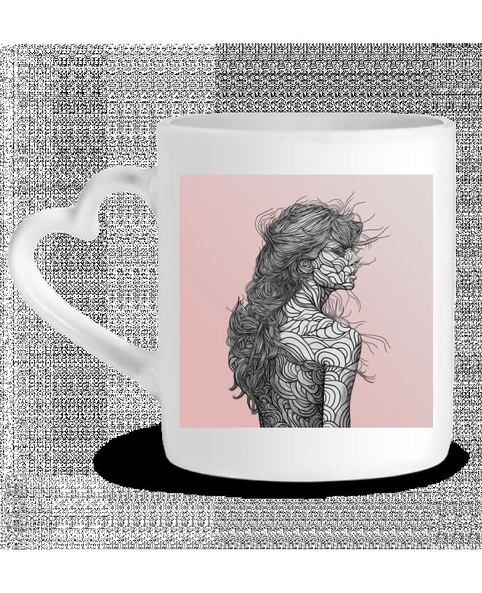 Mug Coeur Pinksky par PedroTapa
