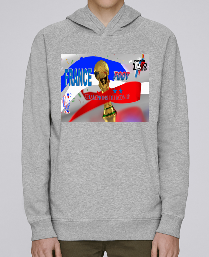 timeless design 3c914 87f7e 4795773-sweat-capuche-homme-heather-grey-france-worldcup-champions-du-monde-by-gonanissima.png