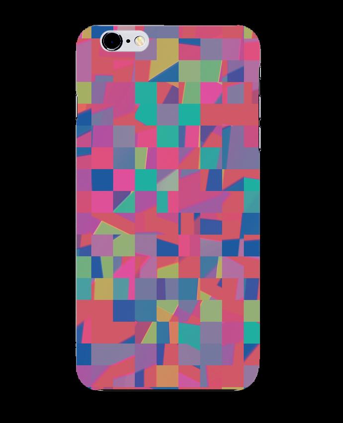 Coque 3D Iphone 6+ Pink Check de L'Homme Sandwich