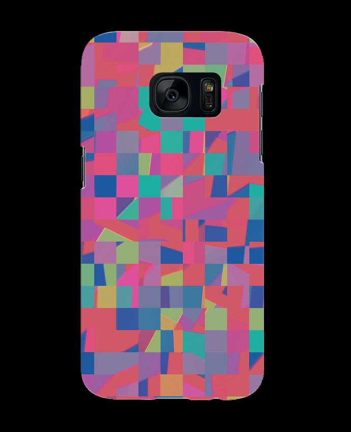 Coque 3D Samsung Galaxy S7 Pink Check par L'Homme Sandwich
