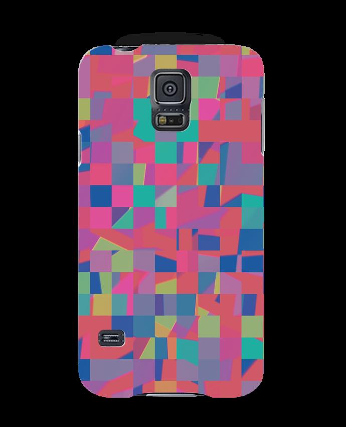 Coque 3D Samsung Galaxy S5 Pink Check par L'Homme Sandwich