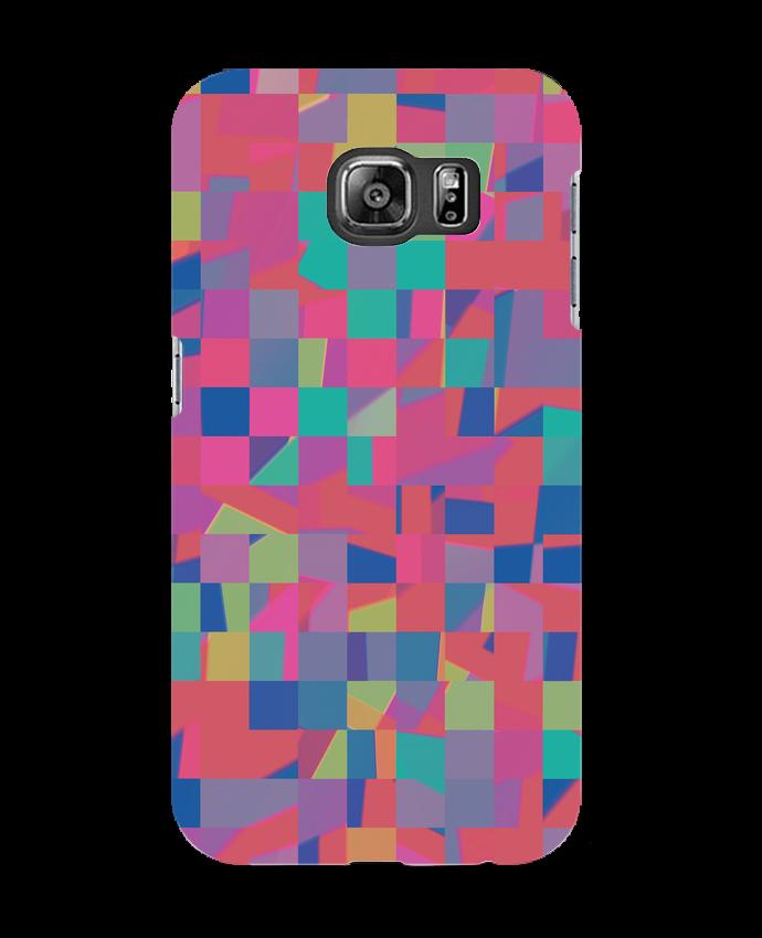 Coque 3D Samsung Galaxy S6 Pink Check - L'Homme Sandwich