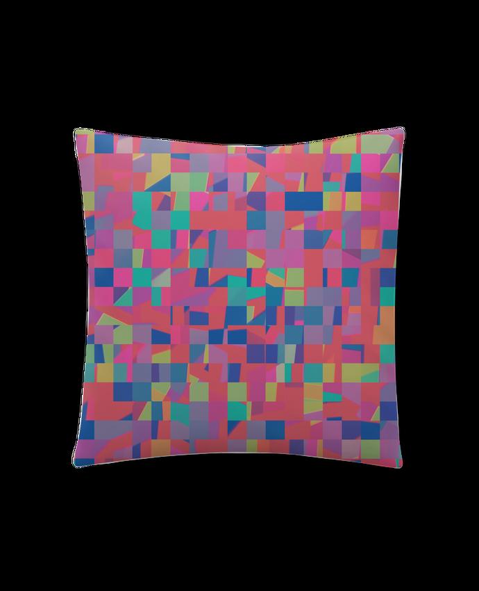Coussin Synthétique Doux 41 x 41 cm Pink Check par L'Homme Sandwich