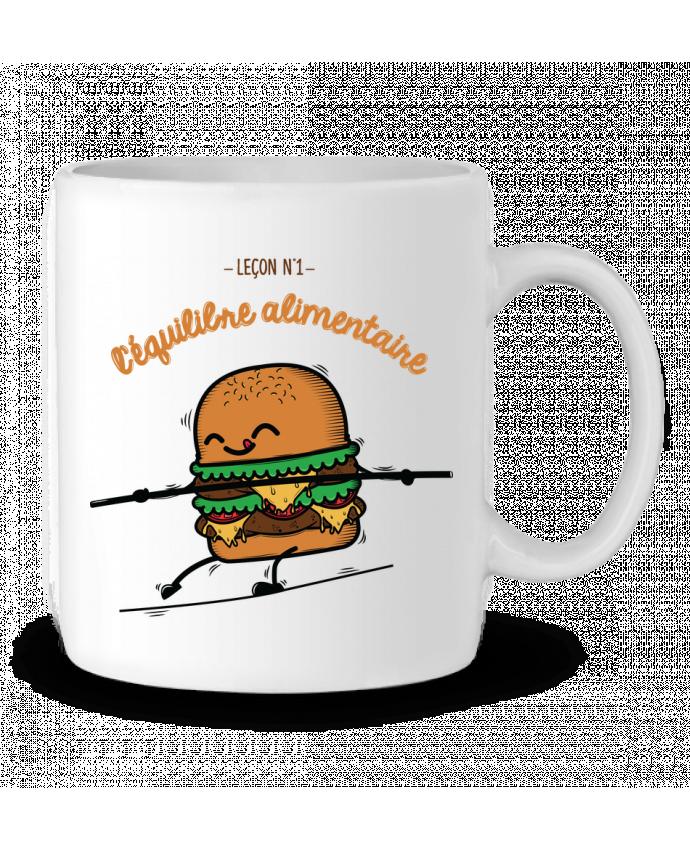 Mug en Céramique Equilibre alimentaire par PTIT MYTHO