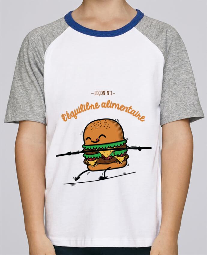 Tee-Shirt Enfant Stanley Mini Jump Short Sleeve Equilibre alimentaire par PTIT MYTHO