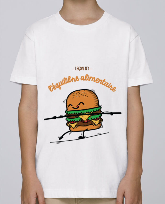 Tee Shirt Garçon Stanley Mini Paint Equilibre alimentaire par PTIT MYTHO