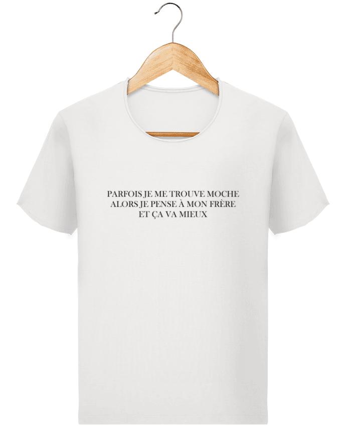 T-shirt Homme Stanley Imagines Vintage J'ai un frère moche par tunetoo