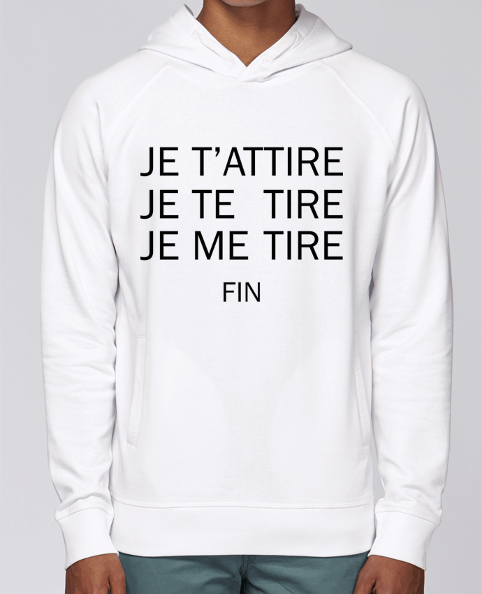 Sweat Capuche Homme Stanley Base Je t