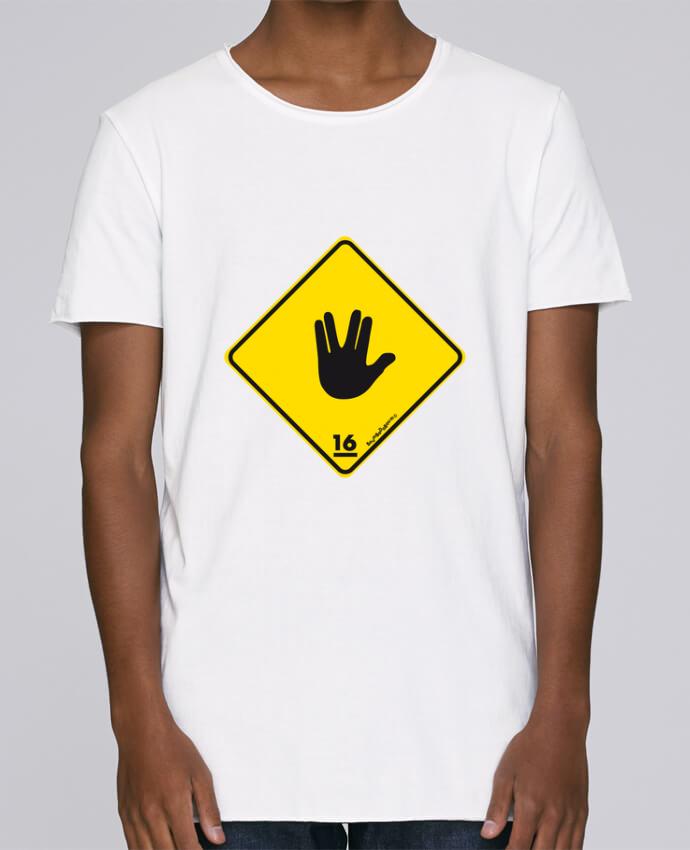 T-shirt Homme Oversized Stanley Skates Startrek Main Signe par Zorglub
