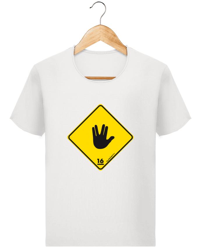 T-shirt Homme Stanley Imagines Vintage Startrek Main Signe par Zorglub
