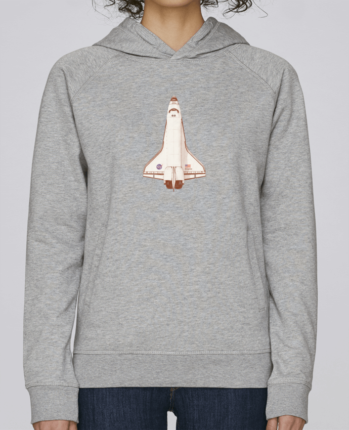 Sweat Capuche Femme Stanley Base Atlantis S6 par Florent Bodart