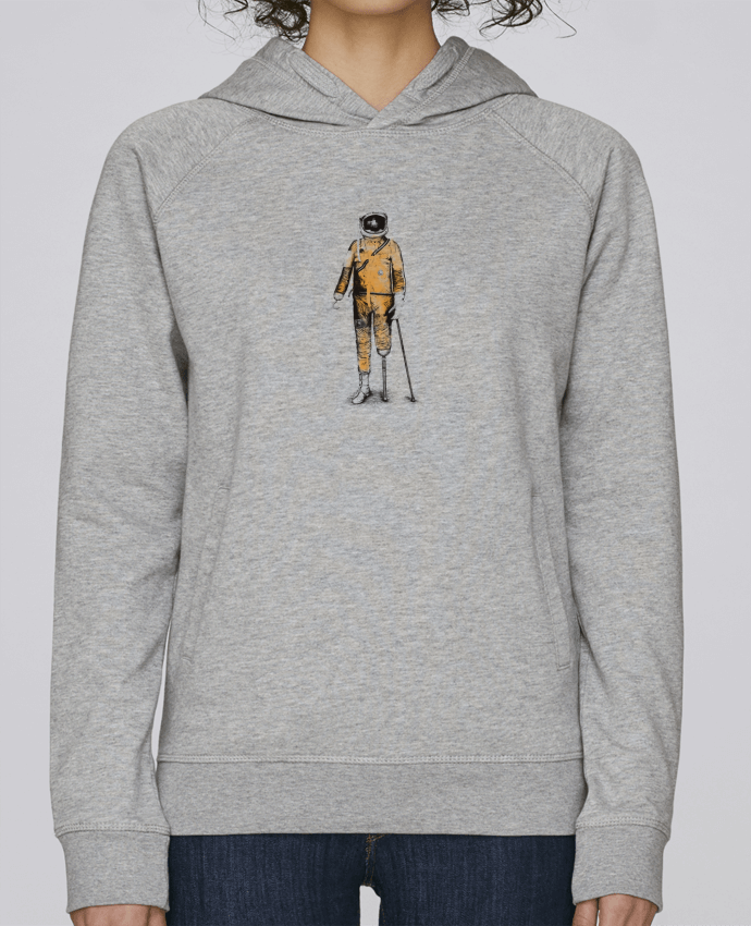 Sweat Capuche Femme Stanley Base Astropirate par Florent Bodart