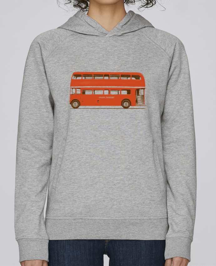 Capuche Femme London Tunetoo Sweat Bus Base Red Stanley Twdzz5qF