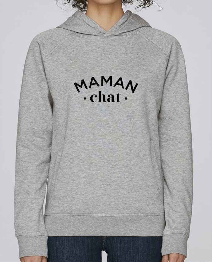 Sweat Capuche Femme Stanley Base Maman chat par tunetoo