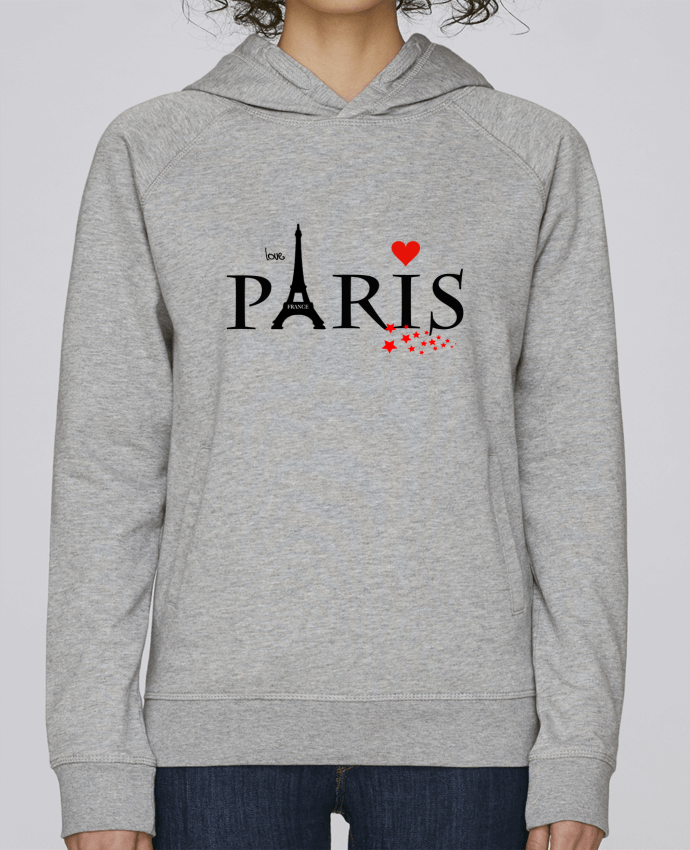 Sweat Capuche Femme Stanley Base Paris love par Dream Design