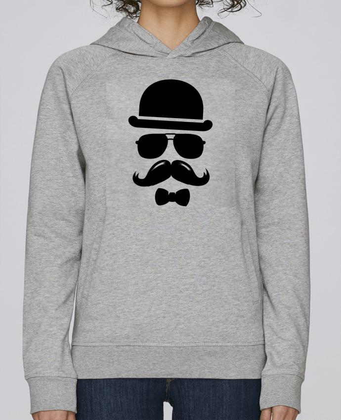 Sweat Capuche Femme Stanley Base Vetement moustache swag par Designer_TUNETOO