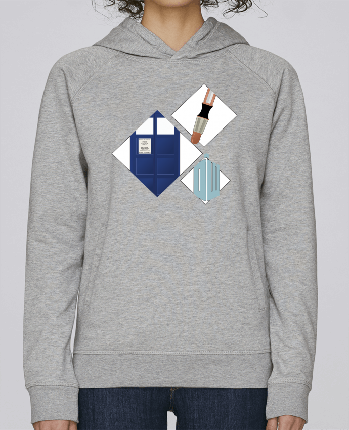 Sweat Capuche Femme Stanley Base dr who |