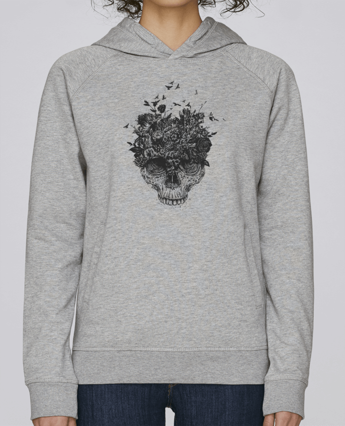 Sweat Capuche Femme Stanley Base My head is a jungle par Balàzs Solti