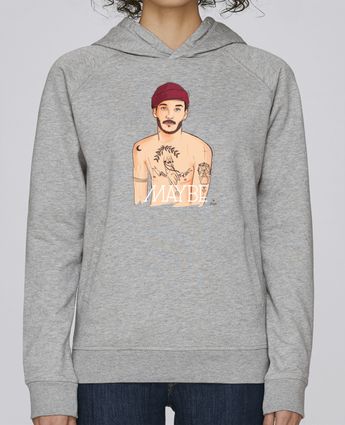 Sweat Capuche Femme Stanley Base Maybe par 13octobre