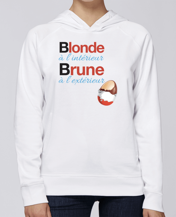 Sweat Capuche Femme Stanley Base Blonde à l