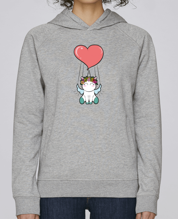 Sweat Capuche Femme Stanley Base Lovely unicorn par
