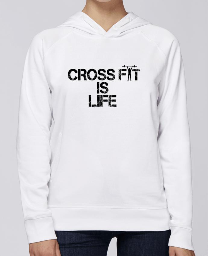 Sweat Capuche Femme Stanley Base Crossfit is life par tunetoo