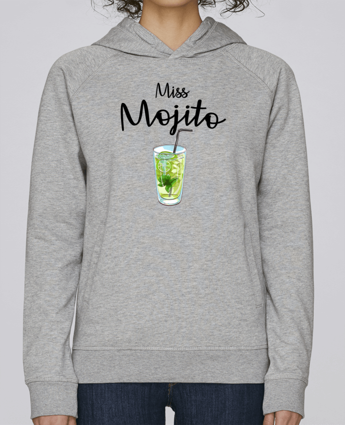 Sweat Capuche Femme Stanley Base Miss Mojito par FRENCHUP-MAYO