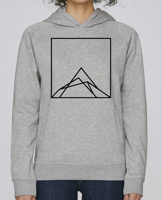 Sweat Capuche Femme Stanley Base Montain by Ruuud par Ruuud