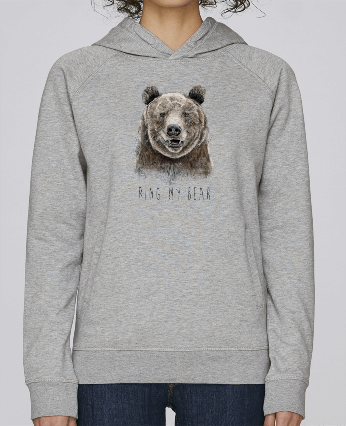 Sweat Capuche Femme Stanley Base Ring my bear par Balàzs Solti