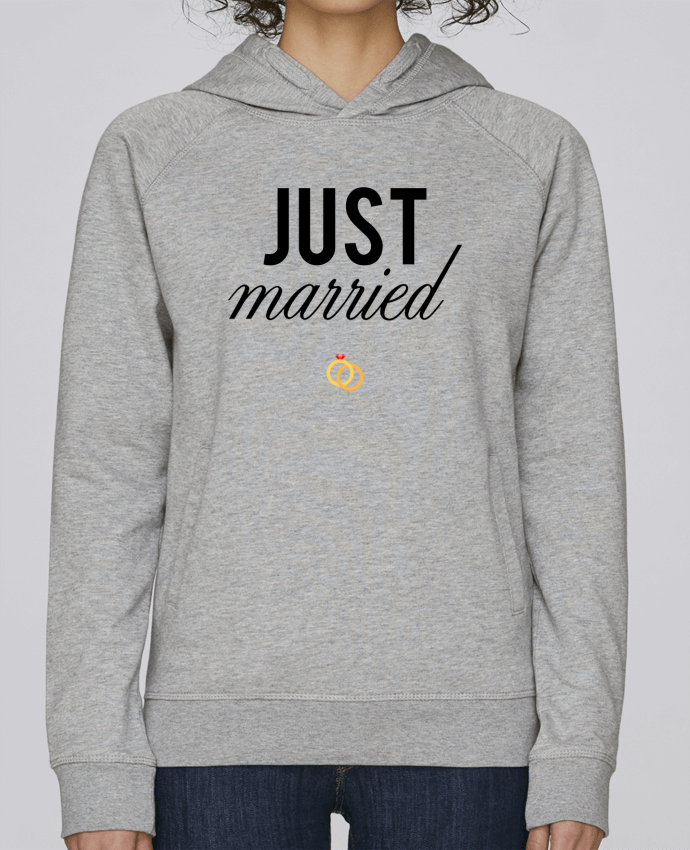 Sweat Capuche Femme Stanley Base Just married par tunetoo