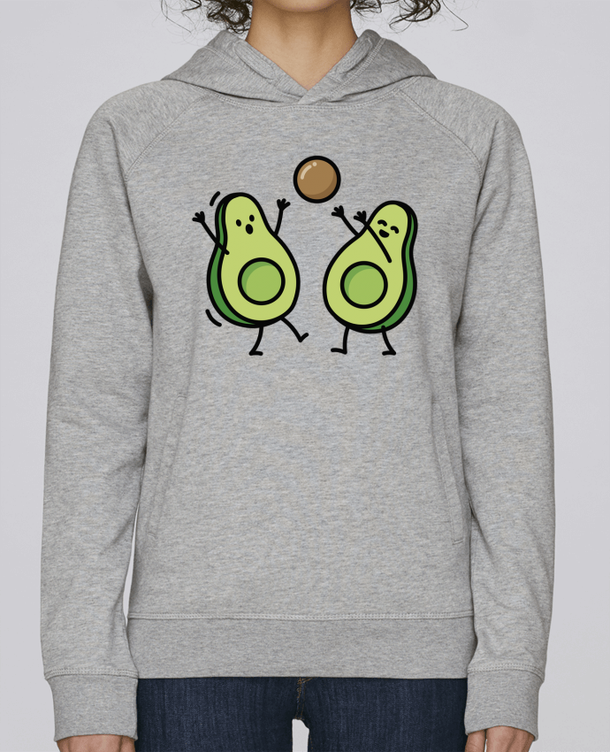 Sweat Capuche Femme Stanley Base Avocado handball par LaundryFactory