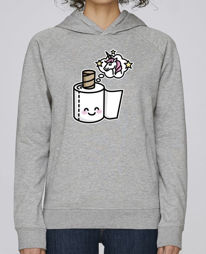 Sweat Capuche Femme Stanley Base Unicorn Toilet Paper par LaundryFactory