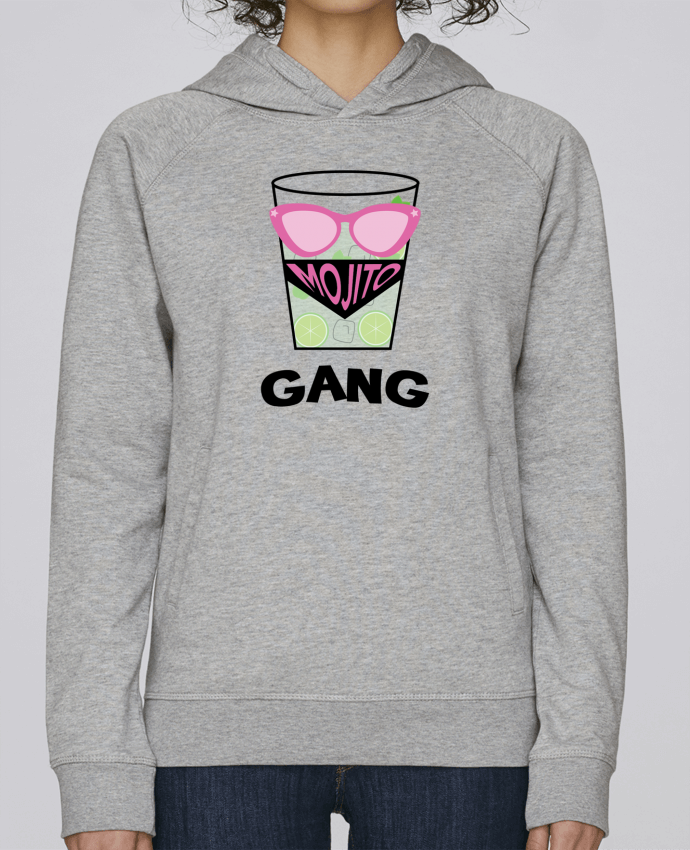 Sweat Capuche Femme Stanley Base Mojito Gang par tunetoo