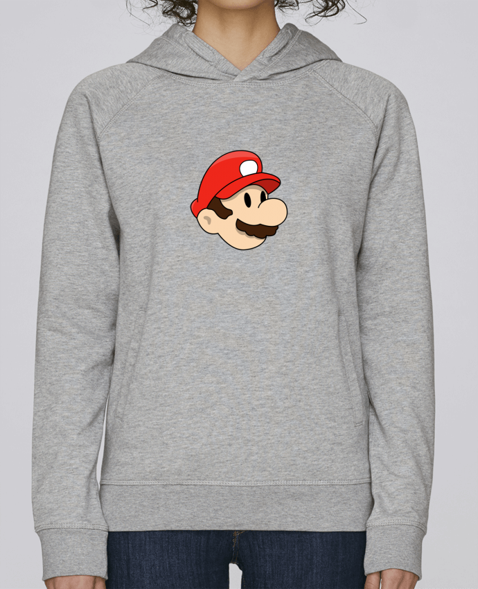 Sweat Capuche Femme Stanley Base Mario Duo par tunetoo